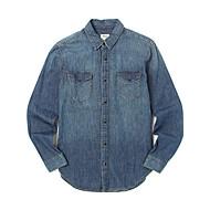 [후아유] 베이직 포켓 데님셔츠 WHYJ64712D