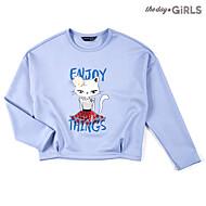 러블리캣 라운드 티셔츠 TGLA61108G_BL