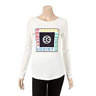 프린트 티셔츠 EF2CL365_WH