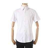 베이직 스판 반소매 드레스 셔츠 ABW2WD1201
