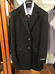 블랙 캐시미어 100% 체스터 코트 + 100개 한정 사은품 양말 증정_93154-06-005-99