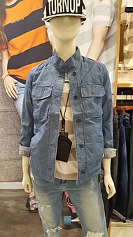 여성 홑겹 숏기장 양면 셔켓(t142jp610p)