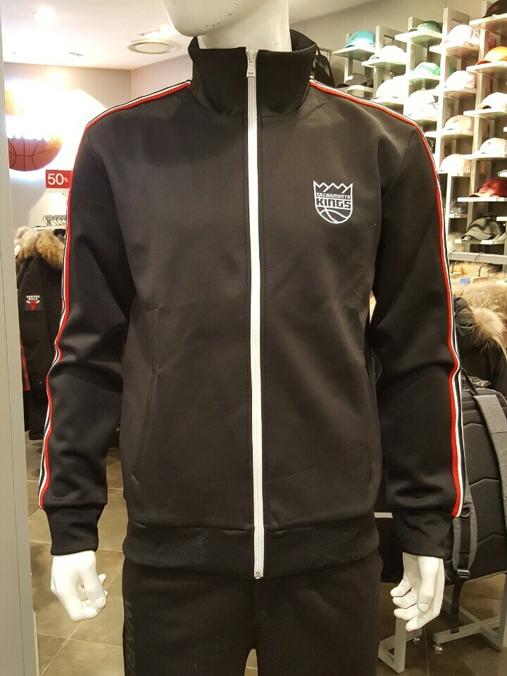 NBA SAC KINGS SIDE LINE TRAINING ZIP-UP_남여공용 라인 트레이닝 집업 N171TJ050P