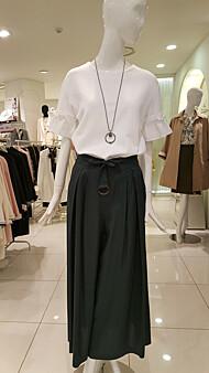 소매진주프릴라인 면티셔츠(E172PSM035)