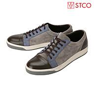 [STCO] 그레이 컬러배색 레이스업 스니커즈 SFWDC05CSG