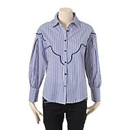 스트라이프 셔츠 L172PSC058_BL1
