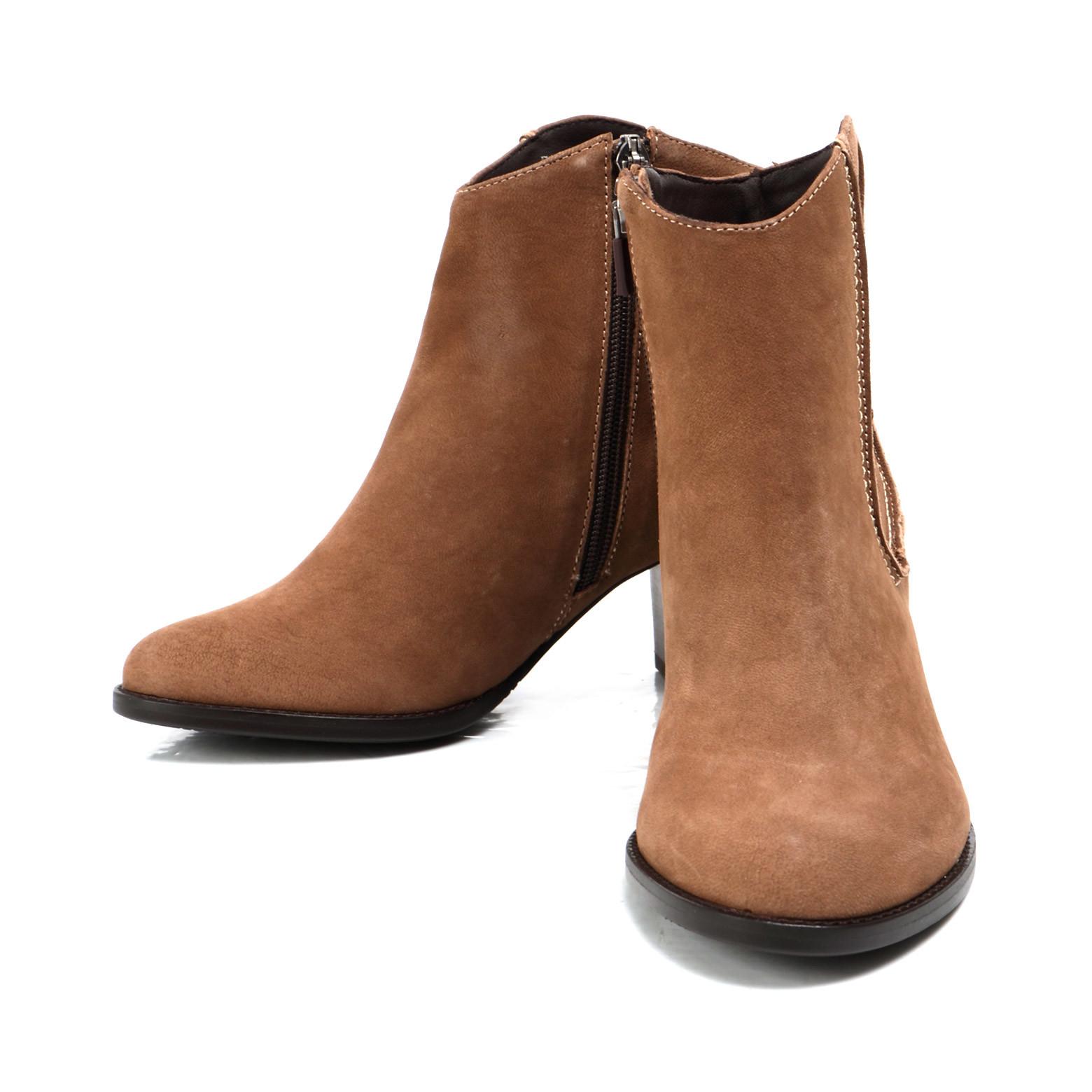 소다 여성 스웨이드부츠 6cm FLB706