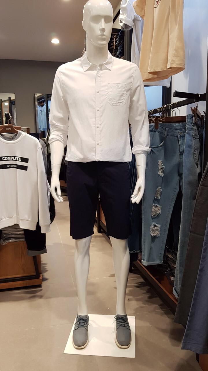 린넨 긴팔 셔츠(UBSA701A)