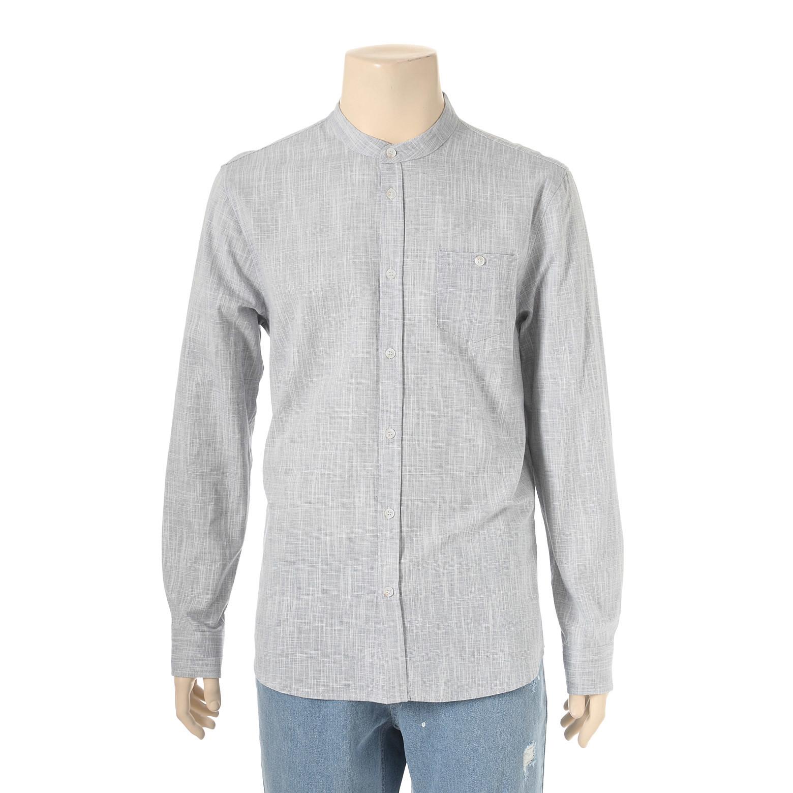 헨리넥 면슬럽 셔츠 UCSA201A
