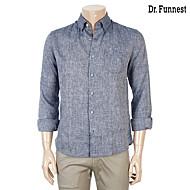 Blue Deco 블루 마소재 포켓포인트 캐주얼셔츠 FIJMBC70A_M55
