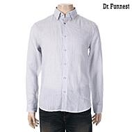 Blue Deco 화이트 마소재 패턴무늬 캐주얼셔츠 FIJMBC65A_P01