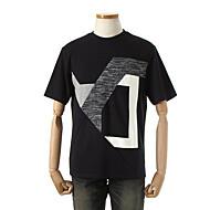 네오프렌 배색 티셔츠 E43TCB08-62