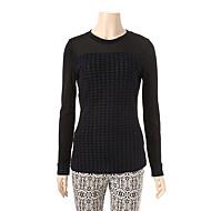 F 패턴 시스루배색 티셔츠 JA6S3WKL250_390