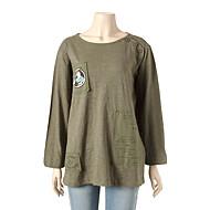 데끼컷 포인트 티셔츠 T166MTS131W