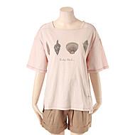 프린트 포인트 박시핏 티셔츠 T164MTS247
