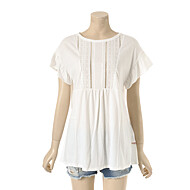 레이스 포인트 루즈핏 티셔츠 T164MTS243