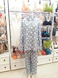 비비안 남성 도트무늬 잠옷 MP022