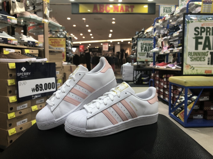 아디다스 슈퍼스타 핑크 (F97659) SUPERSTAR W_ADIDAS SUPERSTAR W F97659