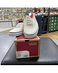 [남녀용] 반스 어센틱 뮬 VANS AUTHENTIC MULE VN0A54F7JTT (CANVAS) CLASSIC WHITE/TRUE WHITE