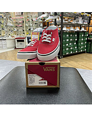 [남녀공용] 반스 어센틱 뮬 VANS AUTHENTIC MULE VN0A54F7JV6 RACING RED/TRUE WHITE