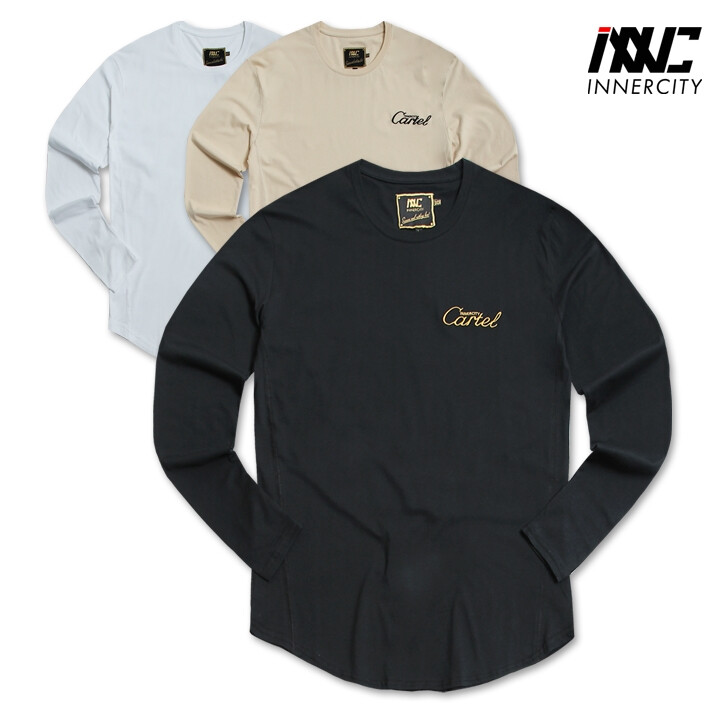 3D Embo Logo Long Sleeve T-shirt INNC-10028