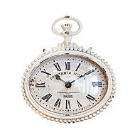 빈티지 철제 앤틱 탁상시계 인테리어시계 카페시계