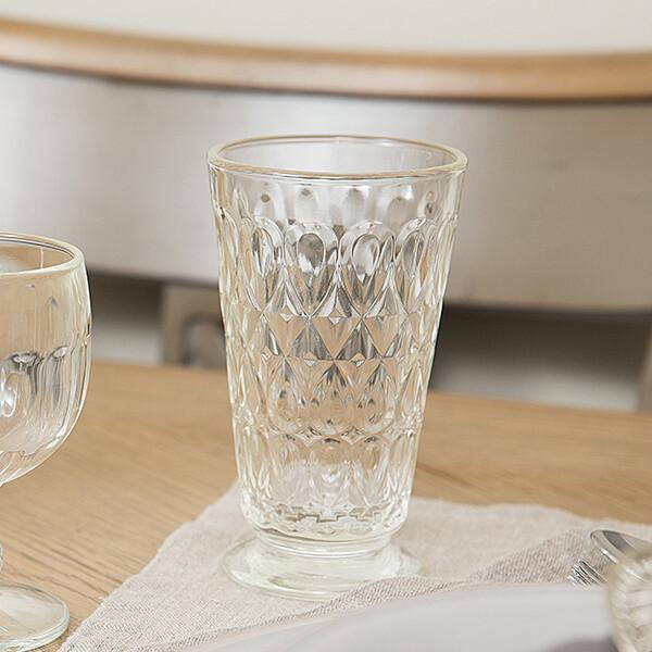 프랑스 라로쉐 리요네 롱드링크 투명 프렌치 유리컵