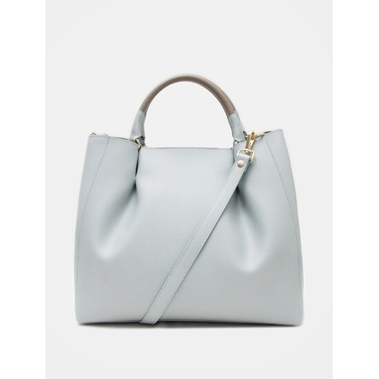 [ILMO] 스크래치상품특가~85% (여) Gianni Shirring Tote (L) - Light Grey (Italy) MA72D3S112