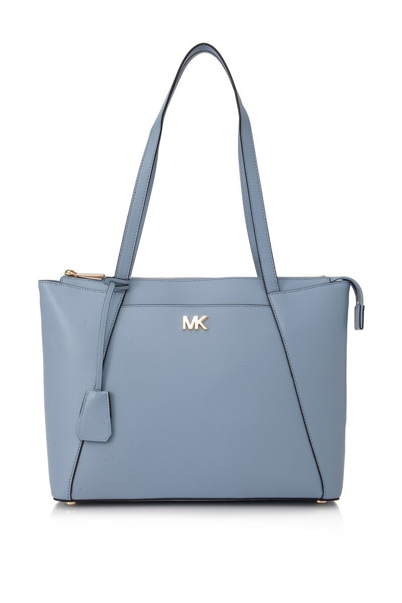 MICHAEL Michael Kors Maddie Medium medium East West Top Zip Tote tote Michael (30S8GN2T2L PALEBLUE)