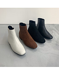 클래식 앵클 부츠 3cm (BLACK, IVORY, BLACK(SU), BROWN(SU))