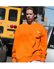 NY SWEAT SHIRT_ORANGE 21015-1