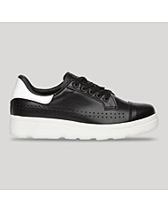 Carnaby PU leather sneakers Black